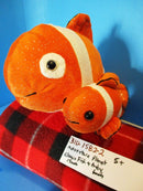 Adventure Planet Birth of Life Clown Fish and Baby Plush