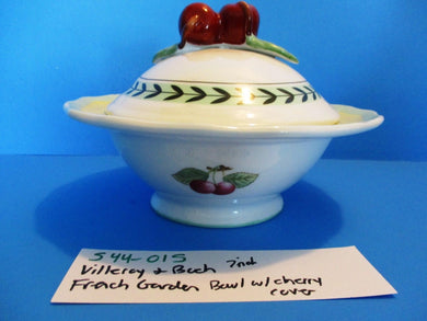 Villeroy & Boch French Garden Fruit Decorated 7 Inch Serving Dish (544-015)