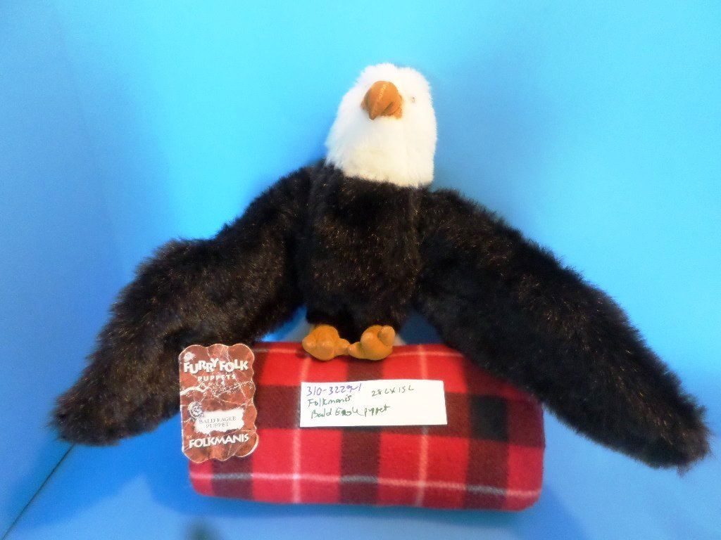 Folkmanis Bald Eagle Puppet