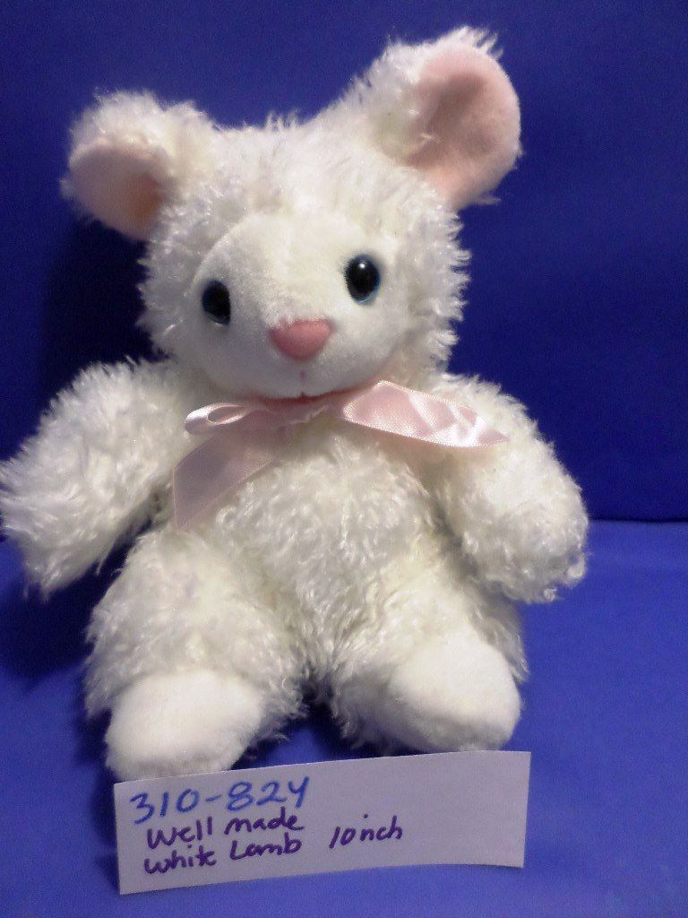 Well Made Toys White Lamb Plush
