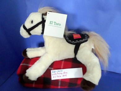 Wells Fargo Pony  El Toro 2014 plush(310-1417)