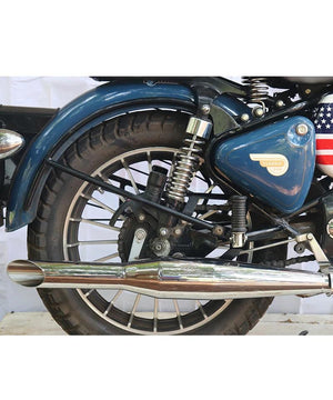Red Rooster Polish Exhausts and Silencers for Royal Enfield Classic Standard and Electra