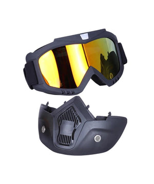 BSDDP Tinted Goggles for Motocross and Motorcycle riders