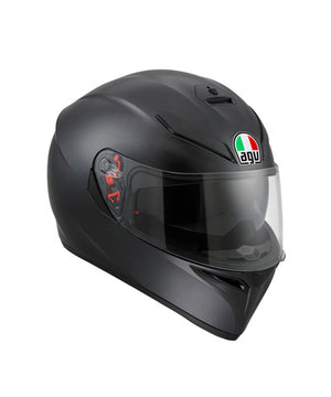 AGV K3 SV Solid Matte Black  Full Face  Helmet for motorcycle riders