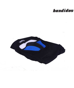 M1  Full Black and Blue Face Mask