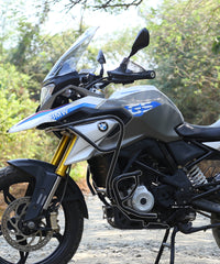 Motorcycle image of Combo of BMW G310 GS Upper and Lower Crash guard with Expedition Engine  Guard