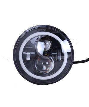 Spitfire 7 Inch 4 LED Dual Ring Headlight