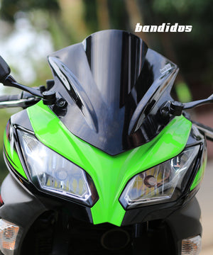 Pro Shield Visor on KAWASAKI NINJA 300
