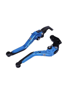 Adjustable Levers for R15 V3 Black and Blue