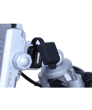 Motowolf Mobile Charger Cum Holder