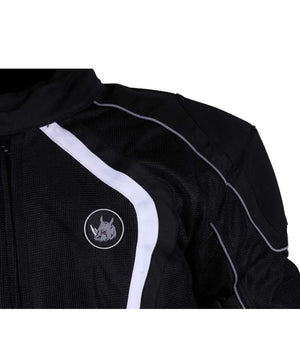 Rynox Tornado Pro L2 White Black Jacket