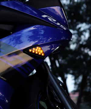 Flush Mount Indicators  for faired motorcycles