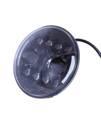 Raceby 7 Inch 11 LED With Side Indicator Headlight