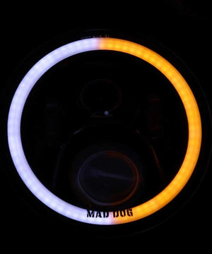 Mad Dog FR 60 Dual Ring  Headlight