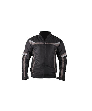 Moto Wear Air Master Perforated Textile Jacket-Jet Black