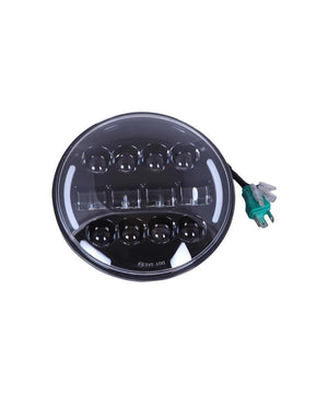Raceby 7 Inch 11 LED With Side Park Headlight