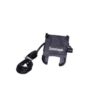 Motorcycle Mobile Phone Holder With Inbuilt  Charger