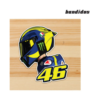 46 Motorcycle Sticker