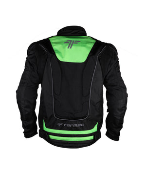 Tarmac One III Motorcycle Riding Jacket Green