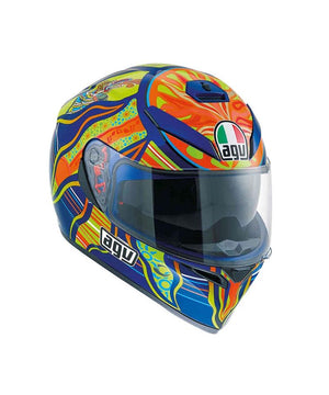 AGV K3 SV  FIVE CONTINENTS Full Face Helmet for Motorcycle Riders