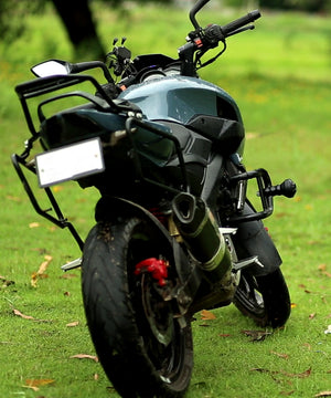 Armour Crash Guard with Black Frame slider For NS 200