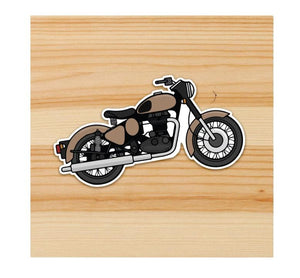 Bullet Motorcycle sticker