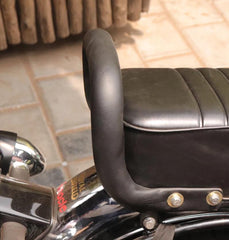 Back Seat Rest With Foam For Royal Enfield Classic Standard And Electra