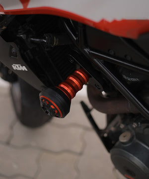 Frame Sliders for KTM Duke 250,390 (new model)