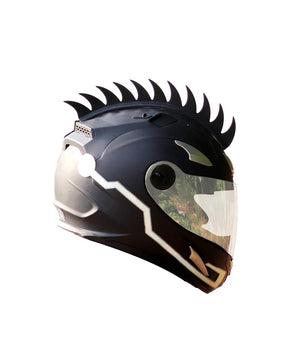 Cuttable Rubber Mohawk Spikes for Helmets
