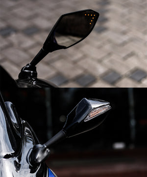 LED Indicator Mirror With Inside Turn Signal