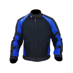 Scrambler Air Motorcycle Riding Jacket - Blue