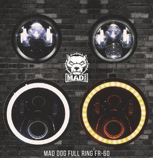 Mad dog FR 60  With dual drl for Motorcycles and cars