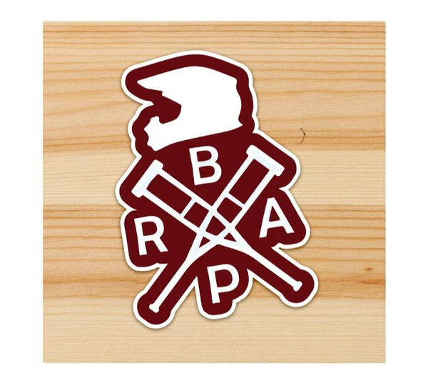 BRAP Motorcycle Sticker