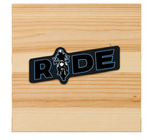 Rider Sticker for motorcycles