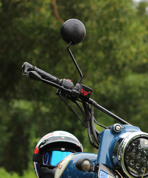 Black Royal Enfield Standard Mirror for Royal Enfield Motorcycles