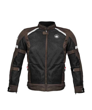 Rynox Earth Brown Urban Riding Jacket for Motorcyclist