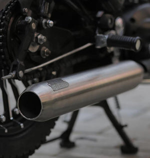 Airfield Small Chrome Exhaust by Legundary Customs