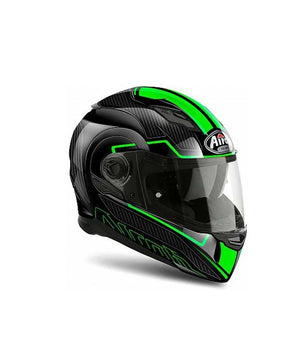 Airoh Movement S Faster Black Green Helmet