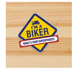 I am a biker stickers for motorcycles