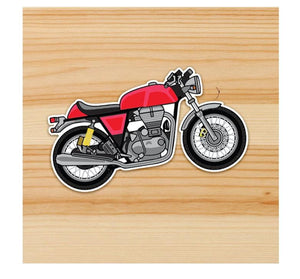 Royal enfield Continental GT stickers