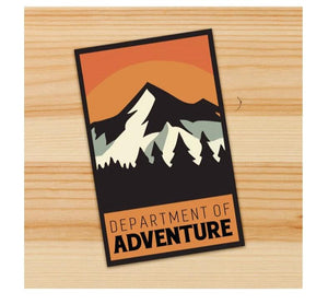 Department of adventure stickers for motorcycles