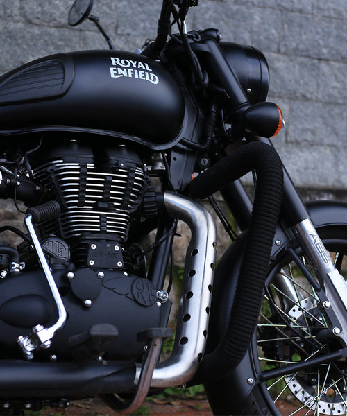 Stainless Steel Heat Shield for Royal Enfield