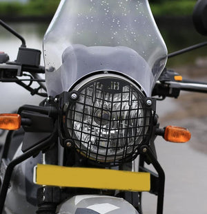 JB Racing  Headlight Grill  for Royal Enfield Himalayan-Square Pattern