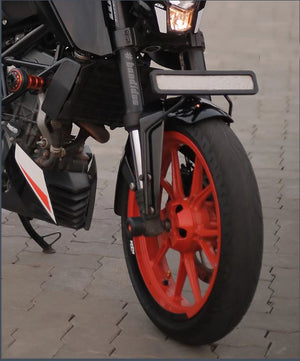 Front Fender Number Plate Holder  For KTM Duke  200