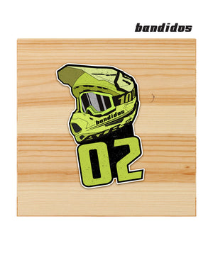 Bandidos Motorsports 02 sticker for motorcycles