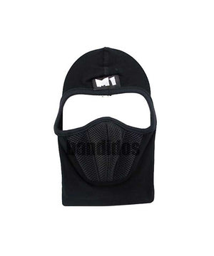 M1  Full Black Face Mask