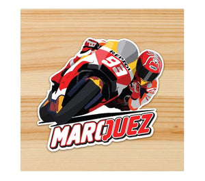 Marquez Motorcycle Sticker