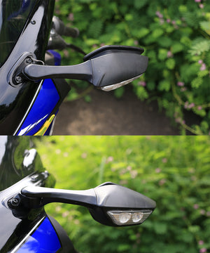 Universal Premium YAMAHA R1M Inspired Indicator Mirror For Motorcycle