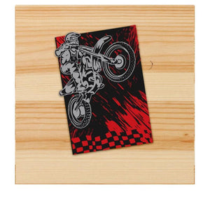 Motocross sticker for motorcycles