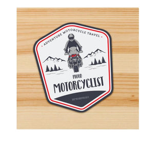 Proud Motorcyclist Motorcycle Sticker